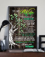 To Wife - Tree - Sometimes It's Hard To Find  16x24 Poster lifestyle-poster-2