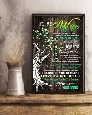 To Wife - Tree - Sometimes It's Hard To Find  16x24 Poster lifestyle-poster-3