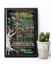 To Wife - Tree - Sometimes It's Hard To Find  16x24 Poster lifestyle-poster-8