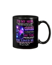 MUG - TO MY MOM - BUTTERFLY - PERFECT MOTHER Mug front