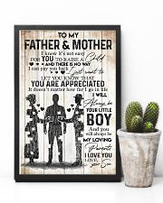 SON TO FATHER AND MOTHER 16x24 Poster lifestyle-poster-8