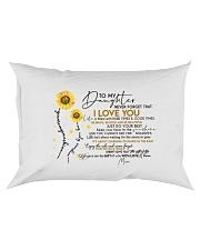 MOM TO DAUGHTER Rectangular Pillowcase front