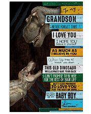 Grandma To Grandson - This Old Dinosaur  11x17 Poster thumbnail