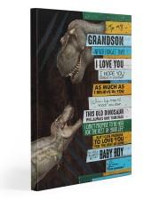 Grandma To Grandson - This Old Dinosaur  20x30 Gallery Wrapped Canvas Prints front