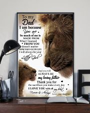 POSTER - TO MY DAD - LION 16x24 Poster lifestyle-poster-2