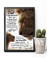 POSTER - TO MY DAD - LION 16x24 Poster lifestyle-poster-8