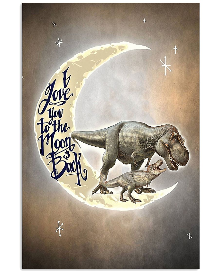TO KIDS - T REX - LOVE YOU TO THE MOON 16x24 Poster