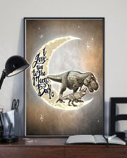 TO KIDS - T REX - LOVE YOU TO THE MOON 16x24 Poster lifestyle-poster-2