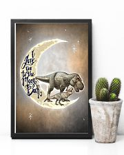 TO KIDS - T REX - LOVE YOU TO THE MOON 16x24 Poster lifestyle-poster-8
