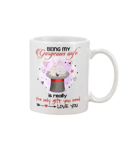 WIFE AND HUSBAND - COUPLE MUG - LOVE YOU