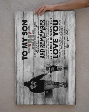 Dad to Son - Never Feel That You Are  20x30 Gallery Wrapped Canvas Prints aos-canvas-pgw-20x30-lifestyle-front-29
