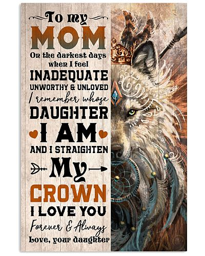 TO MY MOM - WOLF - I LOVE YOU