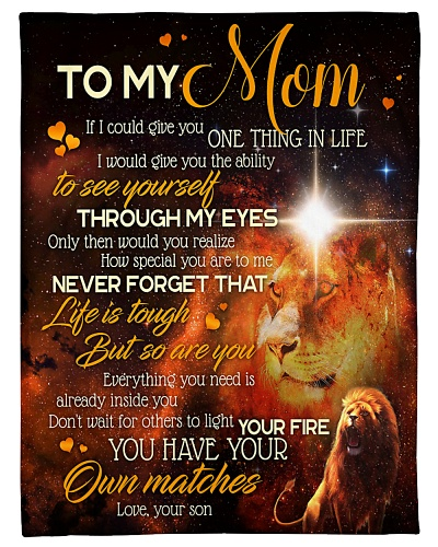 TO MY MOM - LION - IF I COULD GIVE YOU