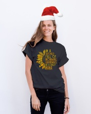 In a world full of normal grandmas Be a crazy nana Classic T-Shirt lifestyle-holiday-crewneck-front-1