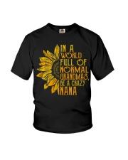 In a world full of normal grandmas Be a crazy nana Youth T-Shirt thumbnail