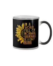 In a world full of normal grandmas Be a crazy nana Color Changing Mug thumbnail