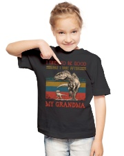 TO GRANDSON - T REX - TAKE AFTER Youth T-Shirt lifestyle-youth-tshirt-front-2