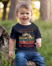 TO GRANDSON - T REX - TAKE AFTER Youth T-Shirt lifestyle-youth-tshirt-front-4