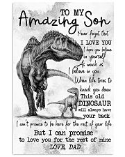 POSTER - TO MY SON - DINO - I HOPE 16x24 Poster front