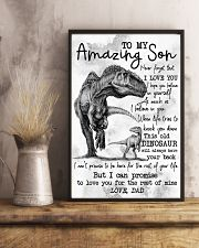 POSTER - TO MY SON - DINO - I HOPE 16x24 Poster lifestyle-poster-3