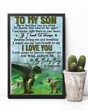 Mom To Son - t rex - never Feel That You  16x24 Poster lifestyle-poster-8