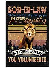 Son-in-law - Lion - You Volunteered - Poster 16x24 Poster front