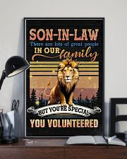 Son-in-law - Lion - You Volunteered - Poster 16x24 Poster lifestyle-poster-2