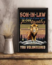 Son-in-law - Lion - You Volunteered - Poster 16x24 Poster lifestyle-poster-3