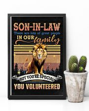 Son-in-law - Lion - You Volunteered - Poster 16x24 Poster lifestyle-poster-8
