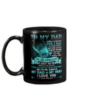 SON TO DAD Mug back