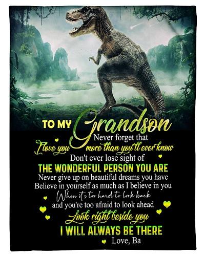 BA TO GRANDSON