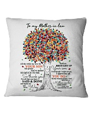 DAUGHTER TO MOTHER-IN-LAW Square Pillowcase tile