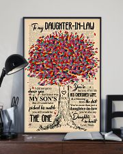 TO MY DAUGHTER-IN-LAW - TREE ART - THE ONE 16x24 Poster lifestyle-poster-2
