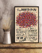 TO MY DAUGHTER-IN-LAW - TREE ART - THE ONE 16x24 Poster lifestyle-poster-3