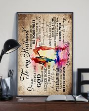 To Husband - Watercolor Art - Once Upon A Time 16x24 Poster lifestyle-poster-2
