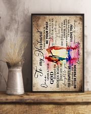 To Husband - Watercolor Art - Once Upon A Time 16x24 Poster lifestyle-poster-3