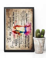 To Husband - Watercolor Art - Once Upon A Time 16x24 Poster lifestyle-poster-8