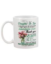 TO MY DAUGHTER-IN-LAW - ROSE - CIRCUS Mug back