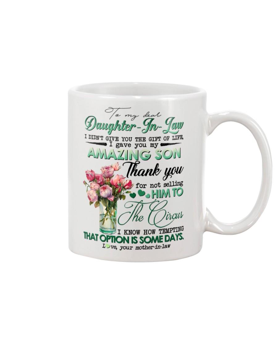 TO MY DAUGHTER-IN-LAW - ROSE - CIRCUS Mug