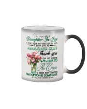 TO MY DAUGHTER-IN-LAW - ROSE - CIRCUS Color Changing Mug thumbnail