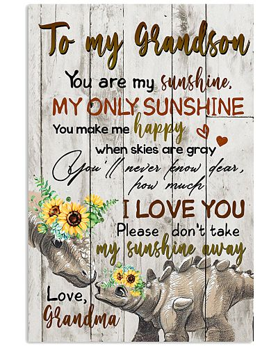 TO MY GRANDSON - DINO - SUNSHINE
