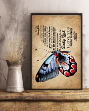 POSTER - TO MY DAUGHTER - BUTTERFLY - WHEREVER 16x24 Poster lifestyle-poster-3