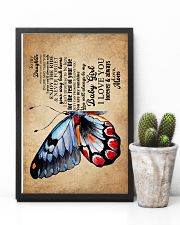 POSTER - TO MY DAUGHTER - BUTTERFLY - WHEREVER 16x24 Poster lifestyle-poster-8