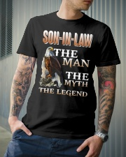 Son-in-law The man The myth The legend Classic T-Shirt lifestyle-mens-crewneck-front-6