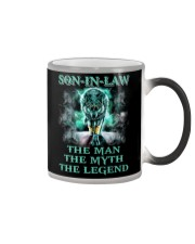 Son-in-law The man The myth The legend Color Changing Mug thumbnail