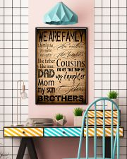 WE ARE FAMILY 16x24 Poster lifestyle-poster-6