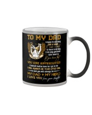 TO MY DAD - YOU ARE APPRECIATED Color Changing Mug thumbnail