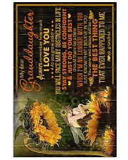 Grandma to Granddaughter - Stay Strong Be  16x24 Poster front