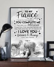 POSTER - TO MY FIANCE' - DEER - THE DAY I MET YOU 16x24 Poster lifestyle-poster-2