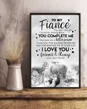 POSTER - TO MY FIANCE' - DEER - THE DAY I MET YOU 16x24 Poster lifestyle-poster-3